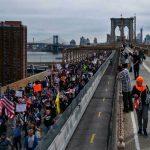 Bomberos protestan en Nueva York contra vacunación obligatoria