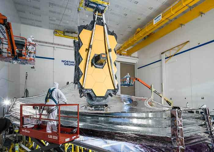 El telescopio James Webb es considerado el sucesor del Hubble