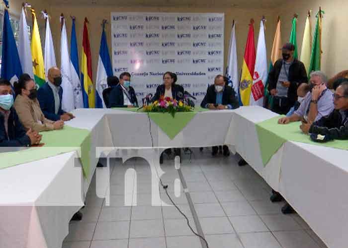 Actividades académicas a desarrollarse en las universidades de Nicaragua