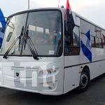Continúan llegando a Nicaragua nuevos buses para el mejoramiento del transporte