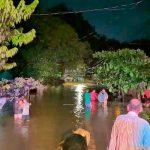 29 personas en albergues por lluvias en San Carlos y Guanacaste, Costa Rica.