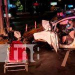 Hombre pierde la vida luego de sufrir un aparatoso accidente en Managua