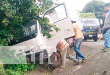 Desperfectos mecánicos provocan accidente en la Isla de Ometepe