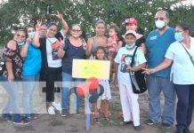 Familias de Ocotal reciben lotes de terreno del Programa Bismarck Martínez