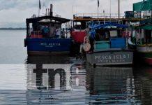 Hombre se lanzó a la bahía para huir de la Policía en el muelle de Bluefields