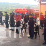 Bomberos de Boaco refuerzan sus conocimientos en primeros auxilios