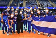 Voleibol, nicaragua, centroamericano, costa, rica