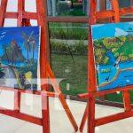 """Nueva galería de arte es expuesta en """"Los Muchachos"""" Puerto Salvador Allende"""