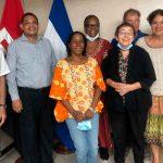Delegación Nicaragua Network y la Alianza para la Justicia Global visitaron en país