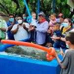 ENACAL entrega ampliación y mejoras de agua potable en Tola, Rivas