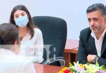 Parlamento de Nicaragua y sistema educativo reciben a Sacha Llorenti