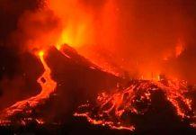 Erupción del Volcán Cumbre Vieja sigue desatando su furia