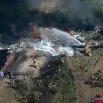 Se estrella un avión con 21 personas a bordo en Texas, EE.UU