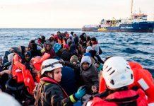 Barco Sea Watch 3 rescata a 322 migrantes en el Mediterráneo Central