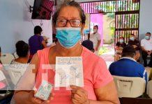 Continúa la vacunación contra el COVID-19 a mayores de 30 en Managua