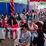 Exitosa jornada de vacunación contra el COVID-19 en Jinotega