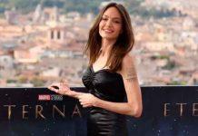 ¡Cerrando ciclos! Angelina Jolie se borra el tatuaje que tenía por Brad Pitt