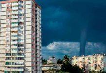 ¡Impresionante! Captan tornado marino frente a las costas en Cuba