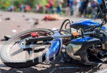 Motociclista pierde la vida bajo las llanteas de un furgón en Madriz
