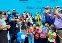 Inauguran ampliación de agua potable en San José de Cusmapa, Madriz