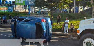 Accidente de tránsito en la Carretera Nueva a León