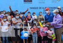 Proyecto de agua potable para familias de San José de Cusmapa