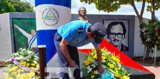 Tipitapa rinde honores al Comandante Pedro Aráuz