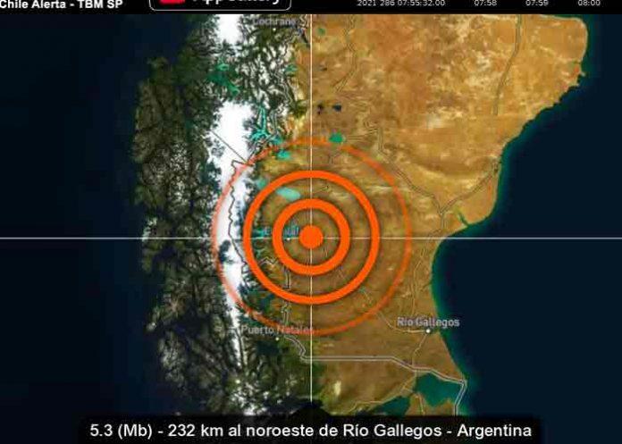 Un terremoto de magnitud 5,5 sacude Argentina
