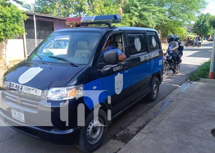 Investigación policial por asalto armado en Managua