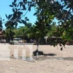Lugar donde ocurrió un atroz asesinato en El Guasaule, Chinandega