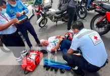 Más de 850 accidentes de tránsito registrados en la última semana