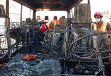 Atentado contra un autobús militar deja 14 muertos en Damasco, Siria