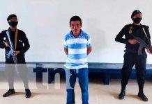Conferencia policial por captura de supuesto asesino en Bilwi