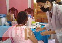 Jornada de aplicación de vacuna a embarazadas en Boaco