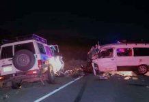 Al menos 12 fallecidos en un choque frontal de vehículos en Bolivia