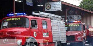 Camiones de bomberos para nueva estación en San José de Bocay