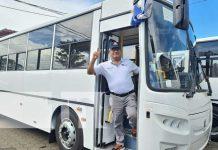 Nuevos buses para la Cooperativa Parrales Vallejos y mejor transporte en Managua