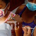 MINSA continúa inmunizando contra el COVID-19 a la población de Río San Juan