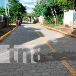 Proyecto de adoquinado en Tipitapa
