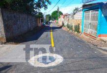 Villa Venezuela con calles nuevas