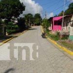 Nuevas calles para el progreso en Río Blanco, Matagalpa