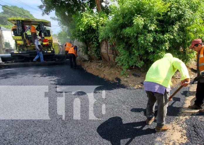 Proyecto de obras viales y nuevas calles en Villa Venezuela