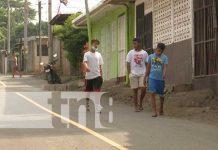 Nuevas calles en Anexo a Villa Libertad, Managua