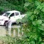Accidente de tránsito en carretera Río Blanco- Matiguás