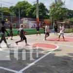 Cancha multiusos para la recreación del barrio Andrés Castro, Managua