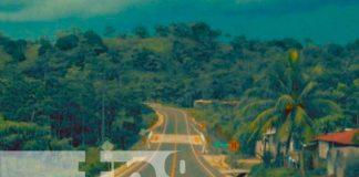 Inauguración de tramo de carretera en Zelaya Central