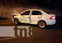 Accidente de tránsito en Chinandega