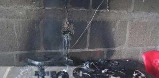 Conato de incendio alarma a pobladores de un barrio de Matagalpa