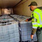 Decomisan 12.000 litros de cocaína en estado líquido en Maicao, Colombia