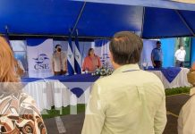 Conferencia del CSE sobre boleta electoral en Nicaragua